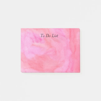 Post-it® Aquarelle rose