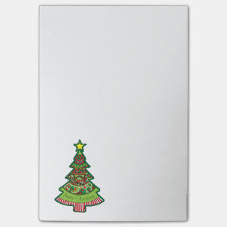 Post-it® Arbre de Noël de griffonnage