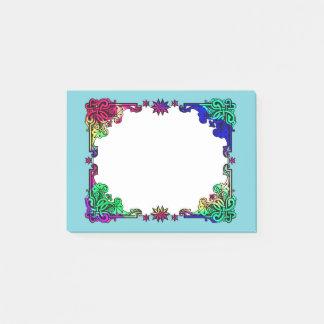 Post-it® Art populaire coloré de Bohème floral gitan de