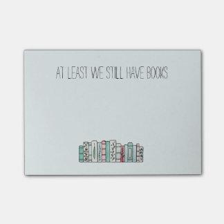 Post-it® Au moins nous avons toujours des livres