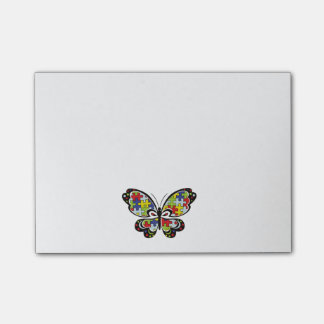 Post-it® Autism Awareness Butterfly