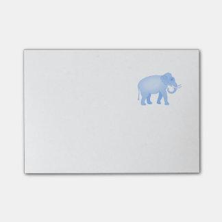 Post-it® Bébé bleu d'éléphant