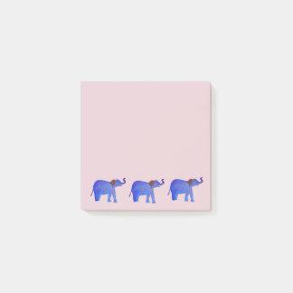 Post-it® Belles notes de post-it de dessin d'éléphant