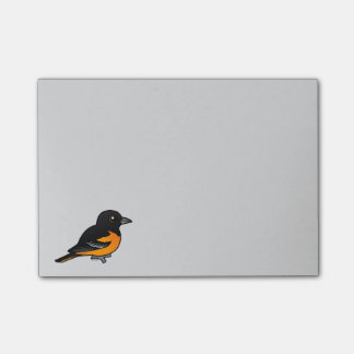 Post-it® Birdorable Baltimore Oriole