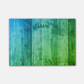 Post-it® Bleu et vert frais