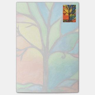 Post-it® Blocs-notes colorés de post-it d'arbre
