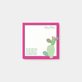 Post-it® Cactus d'aquarelle des affaires |
