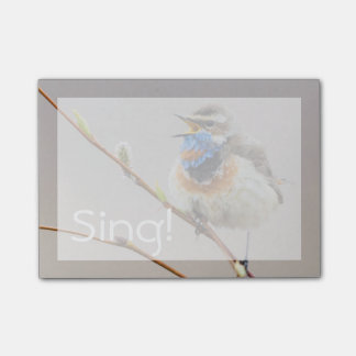 Post-it® Chant de gorge bleue