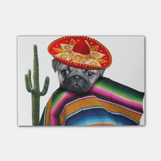 Post-it® Chien mexicain de carlin