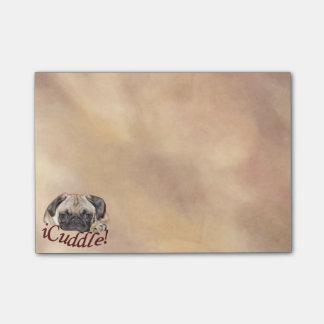 Post-it® Chiot adorable de carlin d'iCuddle