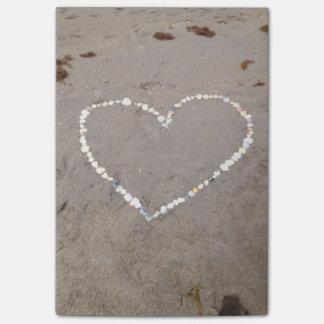 Post-it® Coeur de Shell de plage