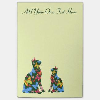 Post-it® Courrier--Notes personnalisées de chat de papillon