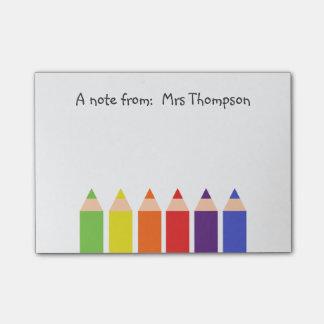 Post-it® Crayons colorés
