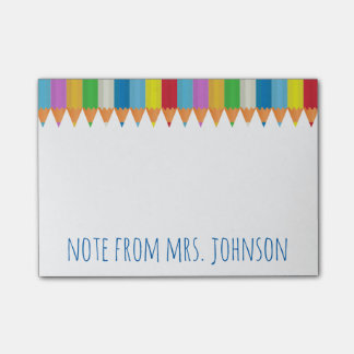 Post-it® Crayons colorés 2