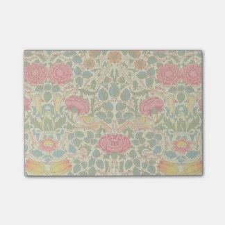 Post-it® Cru floral de rose de William Morris