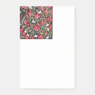 Post-it® disposition florale extraordinaire de Noël