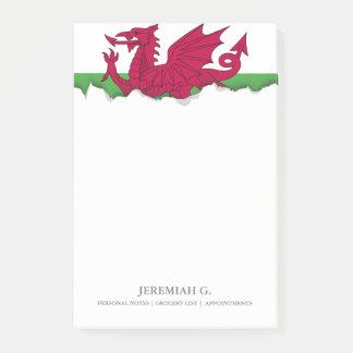 Post-it® Drapeau du Pays de Galles