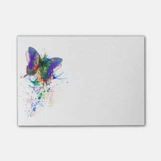 Post-it® éclaboussure de papillon