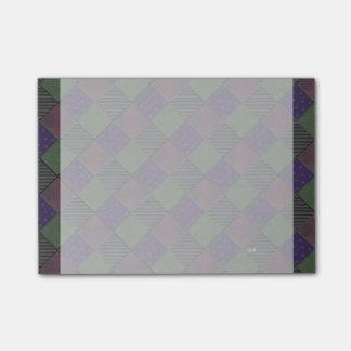 Post-it® Édredon Shimmery de velours de trellis de jardin