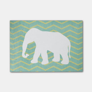 Post-it® Éléphant mignon de Chevron