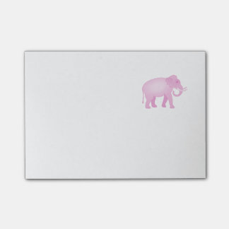Post-it® Éléphant rose