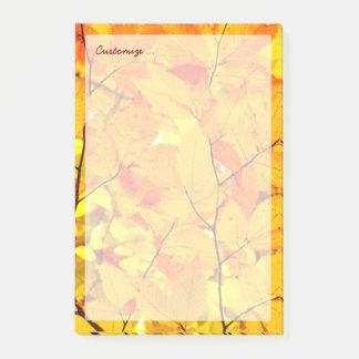 Post-it® Été indien de la Saint-Martin, feuille jaune