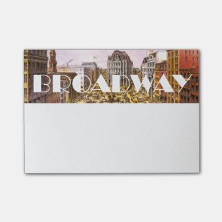 Post-it® Étoile de Broadway de PIÈCE EN T