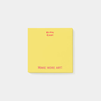 Post-it® Faites plus de post-its d'art