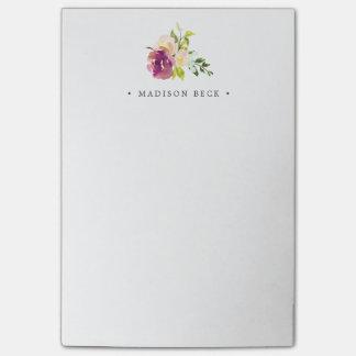 Post-it® Fleur vibrante personnalisée