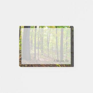 Post-it® Forêt vibrante canadienne de la nature |