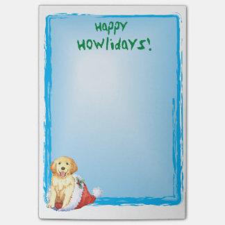 Post-it® Golden retriever heureux de Howlidays