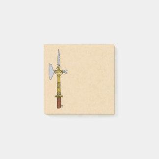 Post-it® Hache d'armes d'Edouard IV