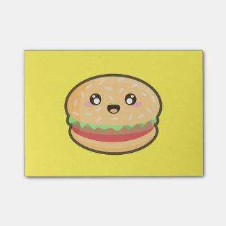 Post-it® Hamburger de Kawaii