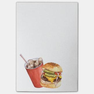 Post-it® Hamburger et