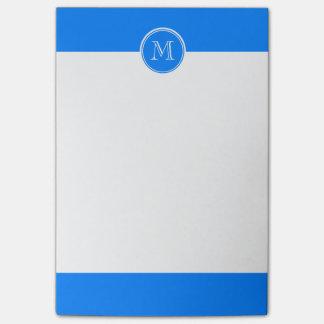 Post-it® Initiale colorée à extrémité élevé de monogramme