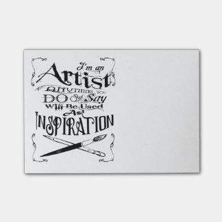 Post-it® Inspiration d'artiste