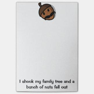 Post-it® J'ai secoué mes notes de post-it d'arbre