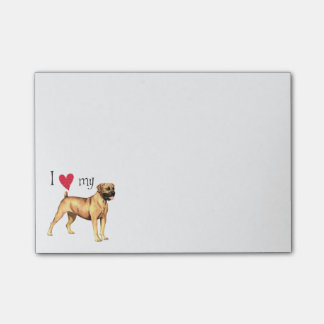 Post-it® J'aime mon Boerboel