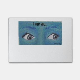 """Post-it® """"Je vois que vous"""" OBSERVE le bloc - notes de"""