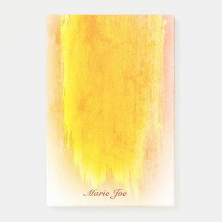 Post-it® Jolie toile de cru d'éclaboussure de confettis