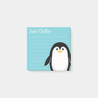 Post-it® Juste pingouin de bébé de Chillin