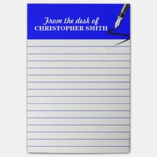 Post-it® La note BLEUE de Courrier-it® d'organisateur de