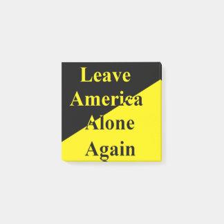 Post-it® Laissez à l'Amérique les seules encore notes de