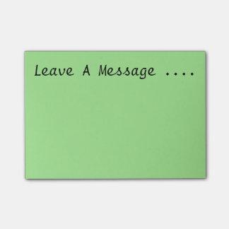 Post-it® Laissez un message