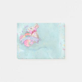 Post-it® Lapin de Pâques, oeufs et confettis ID377