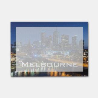 Post-it® L'Australie, Victoria, Melbourne, horizon avec