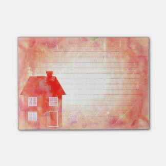 Post-it® Le Courrier-it® de Chambre de rouge note 4 x 3