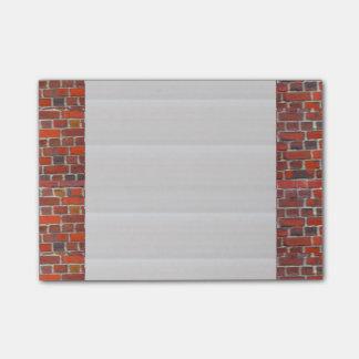 """Post-it® Le Courrier-it® note 4"""" x 6"""" les briques folles de"""
