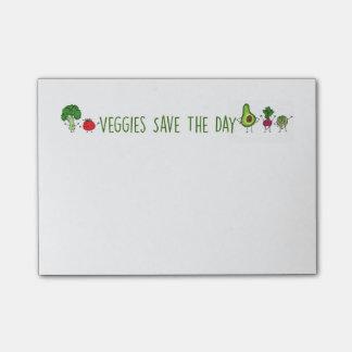 Post-it® Le légume sauve les notes de post-it de jour