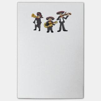 Post-it® Le mariachi mexicain réunissent la bande dessinée